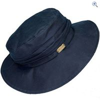 Toggi Monroe Ladies Wax Cloche Style Hat - Size: S - Colour: Navy