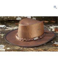 Toggi Drover Hat - Size: M - Colour: Dark Earth Brown