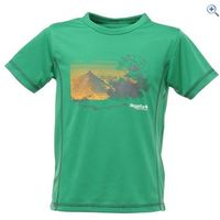 Regatta Sonic Kids T-shirt - Size: 32 - Colour: JELLYBEAN
