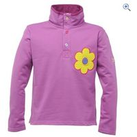 Regatta Rogue Girls Sweater - Size: 3-4 - Colour: Dewberry Purple