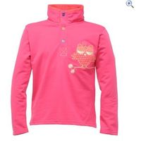 Regatta Rogue Girls Sweater - Size: 7-8 - Colour: Jem Pink