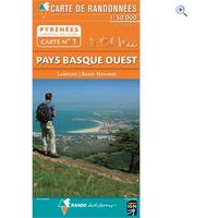 Rando Editions Pyrenees Map 01, Pays Basque West