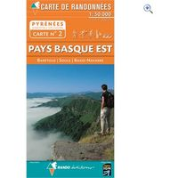Rando Editions Pyrenees Map 02, Pays Basque East