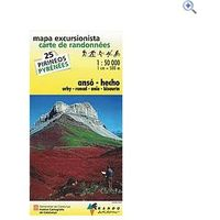 Rando Editions Pyrenees Map 25, Anso-Hecho
