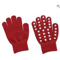 Harry Hall Star Kids Gloves - Colour: Red