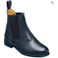 Harry Hall Hartford Zip Ladies Jodhpur Boots - Size: 3 - Colour: Black