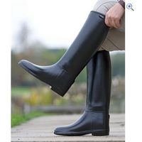 Shires Mens Long Rubber Riding Boots - Size: 44 - Colour: Black