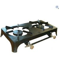 Continental Cast Iron Double Burner