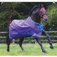 Masta Avante Light Turnout Rug - Size: 6-9 - Colour: Purple