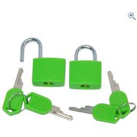 Hi Gear Key Padlocks (Pair)