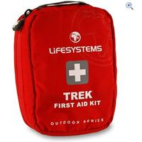 Lifesystems Trek First Aid Kit - Colour: Red
