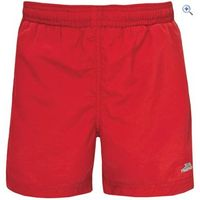Trespass Trey Boys Shorts - Size: 5-6 - Colour: Red