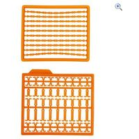Prologic Stop Boilie Kit, Orange - Colour: Orange