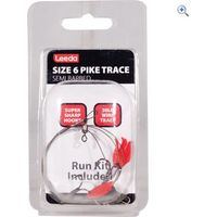 Leeda Size 6 Pike Trace, Semi Barbed