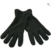 ProClimate Mens Basic Fleece Glove - Size: L-XL - Colour: Black