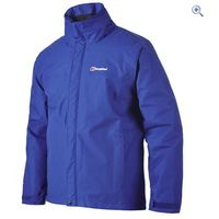 Berghaus RG Alpha Mens Waterproof Jacket - Size: M - Colour: INTENSE BLUE