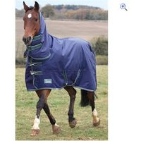 Shires Tempest Plus 1200/300 Combo - Size: 6-0 - Colour: Navy