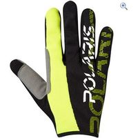 Polaris AM Defy Cycling Gloves - Size: S - Colour: Black / Lime