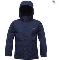 Regatta Westburn Kids Waterproof Jacket - Size: 34 - Colour: Navy