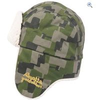 Regatta Topsy Kids Hat - Size: 1-2 - Colour: BAYLEAF CAMO