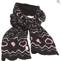 Tottie Jasper Ladies Scarf - Colour: Black