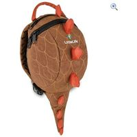 LittleLife Dinosaur Daysack with Rein - Colour: Brown