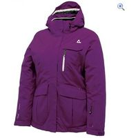Dare2b Restored Womens Jacket - Size: 8 - Colour: PURPLE STORM