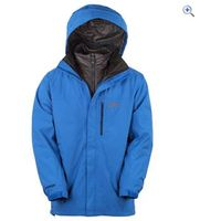 North Ridge Rime Mens 3-in-1 Insulated Jacket - Size: XXS - Colour: BLUE-GRA-BLACK