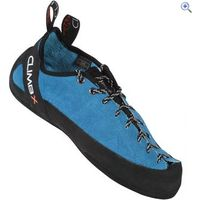 Climb X Crux Climbing Shoes - Size: 8.5 - Colour: Blue