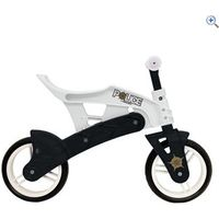 Concept Police Kids Adjustable Balance Bike - Colour: White And Black