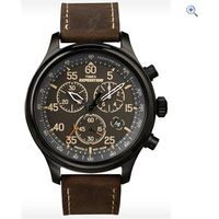 Timex Expedition Field Chronograph Watch - Colour: Black