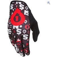 SixSixOne Comp Repeater Glove - Size: S - Colour: Black / Red