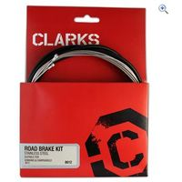 Clarks Cycle Systems Road Brake Cable Set - Colour: Black