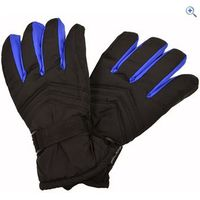 ProClimate Basic Ski Gloves - Size: S-M - Colour: Black / Red