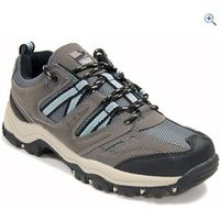 Freedom Trail Lowland Womens Walking Shoes - Size: 15 - Colour: GREY-LIGHT BLUE