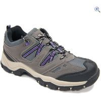 Freedom Trail Lowland Girls Trail Shoes - Size: 2 - Colour: Lilac