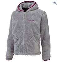 Sprayway Girls Lara Fleece Jacket - Size: 10 - Colour: Silver