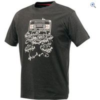 Dare2b Frequency Mens Tee - Size: XXL - Colour: CHARCOAL-GREY