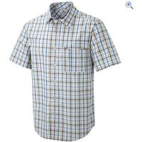 Craghoppers Grady Short-Sleeved Mens Shirt - Size: S - Colour: Strong Blue