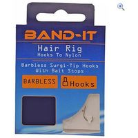 Band-It Hair Rig Hooks to Nylon (size 10)