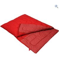 Vango Starlight Double Sleeping Bag - Colour: Red