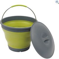 Outwell Collaps Bucket With Lid - Colour: Green