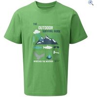 Hi Gear Nelson Boys Tee - Size: 3-4 - Colour: Green