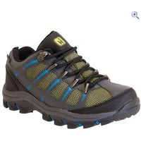 Hi Gear Warren Low Jr Boys Walking Shoe - Size: 12 - Colour: CHARCOAL LIMON