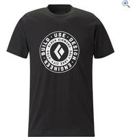 Black Diamond Mens Short Sleeve U.D.E.B. Stamp Tee - Size: S - Colour: Onyx Grey