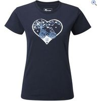 Hi Gear Hosta Womens Tee - Size: 16 - Colour: Navy