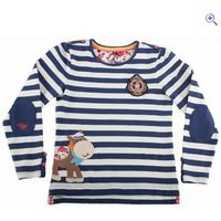 Toggi Goldie Girls Long Sleeve Top - Size: 3-4 - Colour: Navy