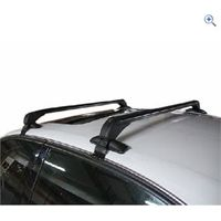 Streetwize Easy Fit Roof Bars (Vehicles Without Roof Rails) - Colour: Black