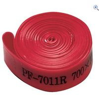Raleigh Polyurethane 700c Wheel Rim Tape Pair - Colour: Red