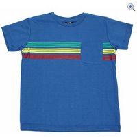 Trespass Jackline Boys T-Shirt - Size: 9-10 - Colour: ULTRAMARINE